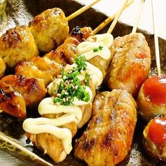 串陣福生店の絶品鶏串